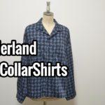 【wonderland】商品紹介 「wonderland OpenCollarShirts」 ワンダーランド オープンカラー シャツ