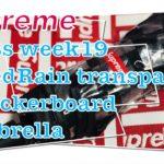 【 Supreme 】20ss week19 ShedRain Transparent Checkerboard Umbrella 商品紹介動画(4K対応)
