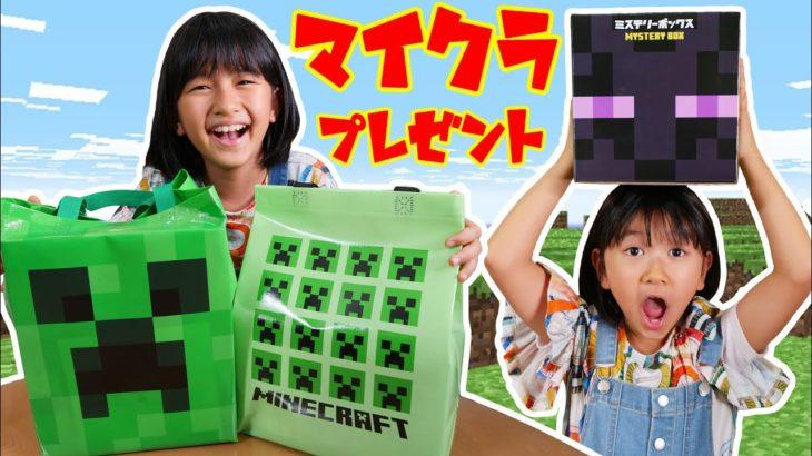 ●普段遊び●マイクラから大量プレゼントが届いた☆全部開封します♡#708
