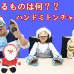 触ってるものは何??当てたらクリスマスプレゼントGet!!ハンドミトンチャレンジ!himawari-CH