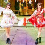 【踊ってみた】千本桜(ミニスカ着物Ver)【さなえぽ】【4K】