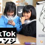 え~!なんで><上手く線が引けない~!! TikTokの歪む鏡でお絵かきチャレンジ!himawari-CH