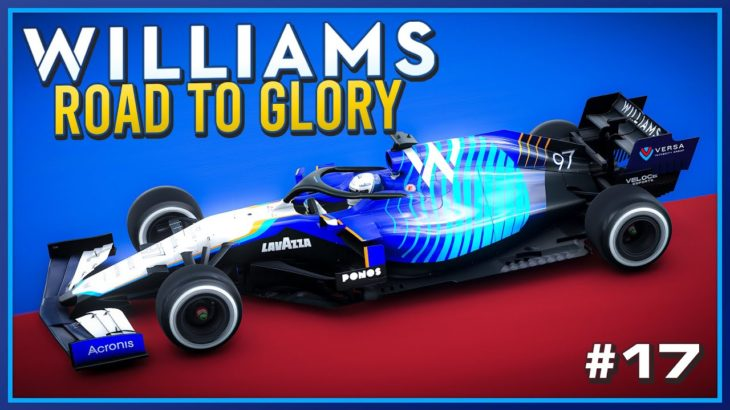 4 WAY TITLE FIGHT 👀 F1 2021 Williams Road To Glory Part 39 (110% AI Russian GP)