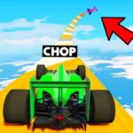 CHOP TROLLED ME WITH F1 CAR MEGA RAMP GTA 5