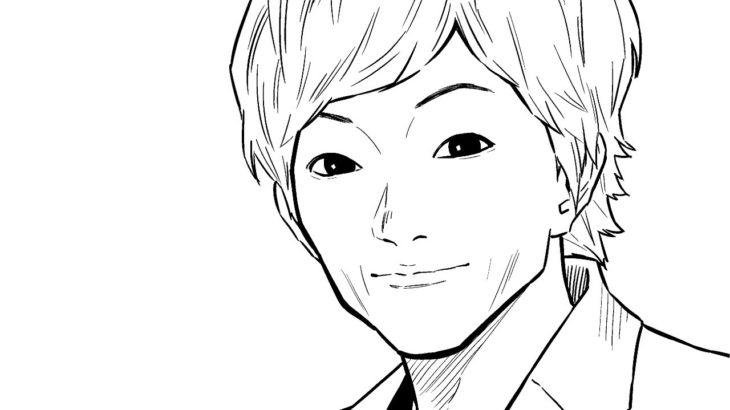 【似顔絵】セイキンさん描いてみた【Drawing caricature SEIKIN】#Shorts