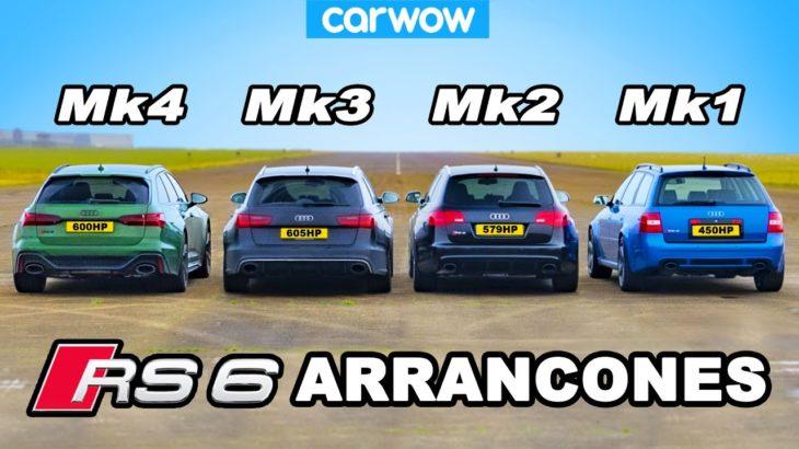 Generaciones Audi RS6 ARRANCONES