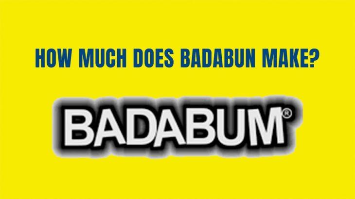 How Much Money Does BADABUN Make On YouTube? #shorts