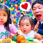 【寸劇】みのちゃんは今日も赤ちゃんになりたい!パパとケンカしてみのちゃんひとりぼっち Mino wants to be baby