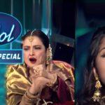 Arunita की Singing को किया Rekha Ji ने Rejoice! | Indian Idol Season | Bollywood Mix Performances