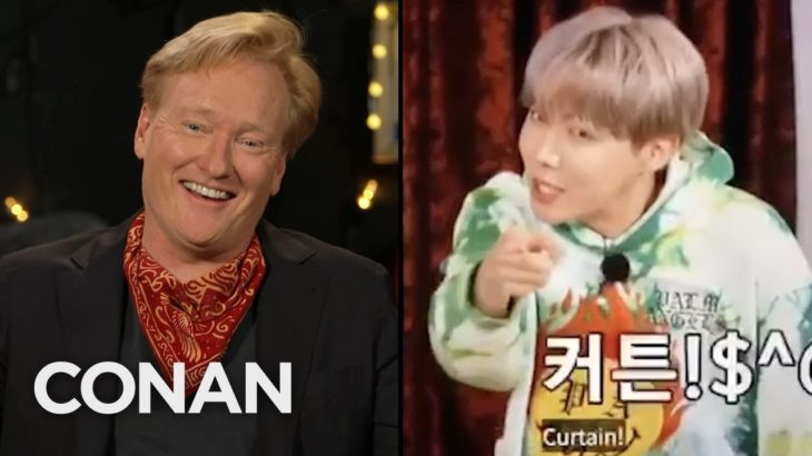 BTS Didn't Recognize Conan – CONAN on TBS