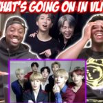 BTS being a mess on vlive (reaction)