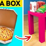 Cool Cardboard DIY Crafts That Will Save Your Money || DIY Furniture, Home Decor And Room Makeover