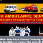 Dial and Confirm your On-call Train Ambulance Services in Patna | ANSH