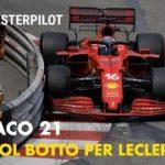 F1 2021, Monaco GP | POLE col BOTTO per Charles Leclerc e la Ferrari a Montecarlo