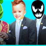 Gummy Bear & Like Nastya & Venom & Minecraft – Coffin Dance Song Astronomia (Cover)
