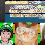 HolaSoyGerman VS FernanFloo VS Badabun VS elrubiusOMG || Sub count History (Mayo 2011 – Mayo 2021)