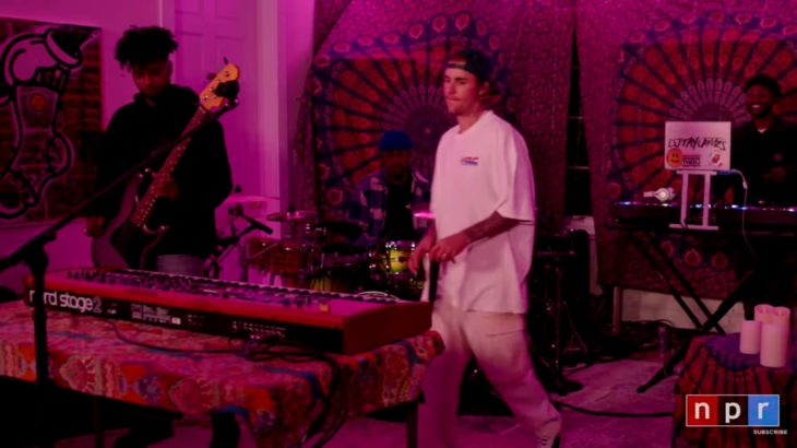 Justin Bieber – Peaches ft. Daniel Caesar, Giveon (Acoustic live performance) Lyrics