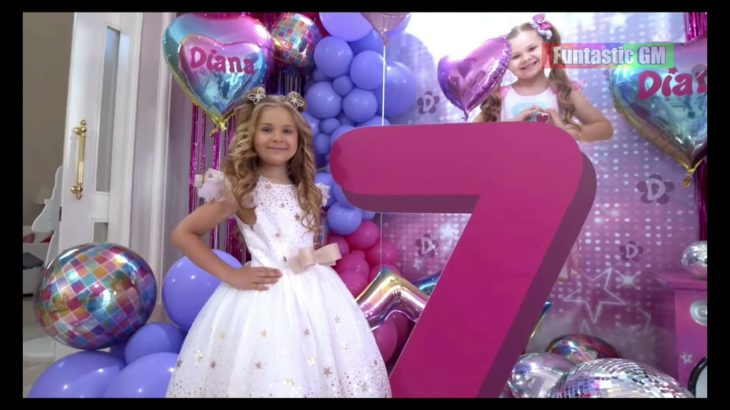 Kids Diana Show released Diana and Roma Happy Birthday Song #kidsdianashow