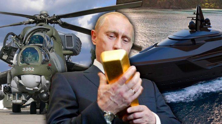 Los lujos más raros y enfermos de Vladímir Putin