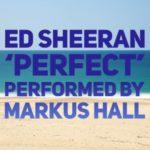 Markus Hall performing 'Perfect' by Ed Sheeran