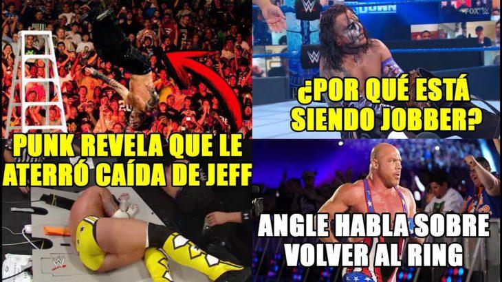 Planes de WWE para Jeff Hardy| CM Punk tuvo miedo en caída de Jeff Hardy en SummerSlam 2009 y más