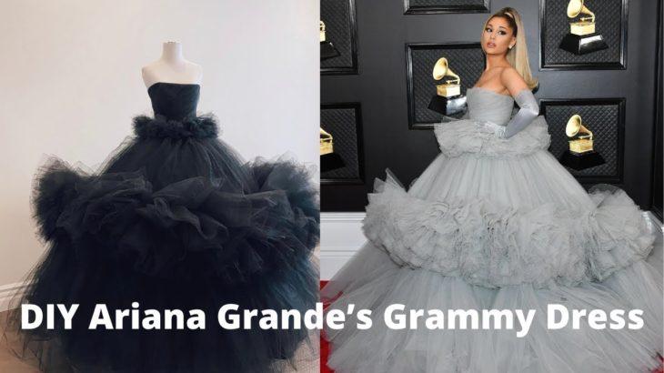 Re-Creating Ariana Grande's Grammy Dress part 1