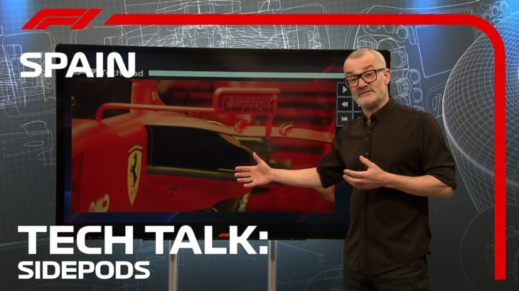 The Latest Sidepods Trend | F1 TV Tech Talk | 2021 Spanish Grand Prix