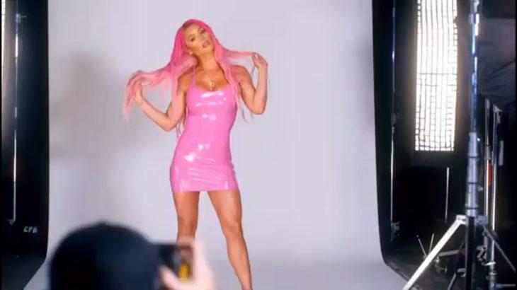 WWE Eva Marie Photoshoot RAW!