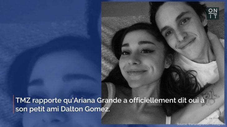 Ariana Grande se marie à Dalton Gomez dans une cérémonie secrète