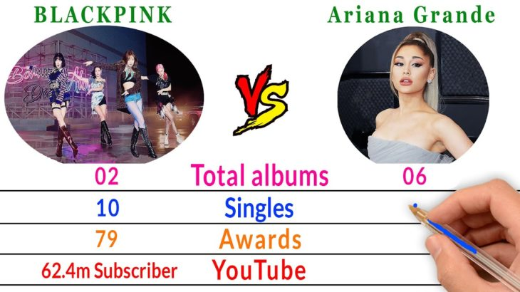 BLACKPINK Vs Ariana Grande Comparison – Filmy2oons