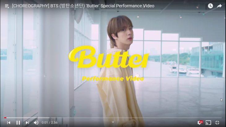 [CHOREOGRAPHY] BTS (방탄소년단) 'Butter' Special Performance Video – YouTube – Google Chrome 2021-06-07 12-31-41_Trim.mp4
