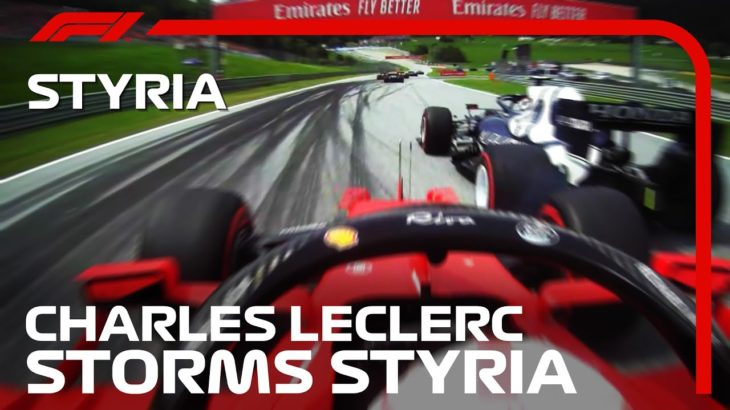 Charles Leclerc Charges Through The Pack | 2021 Styrian Grand Prix