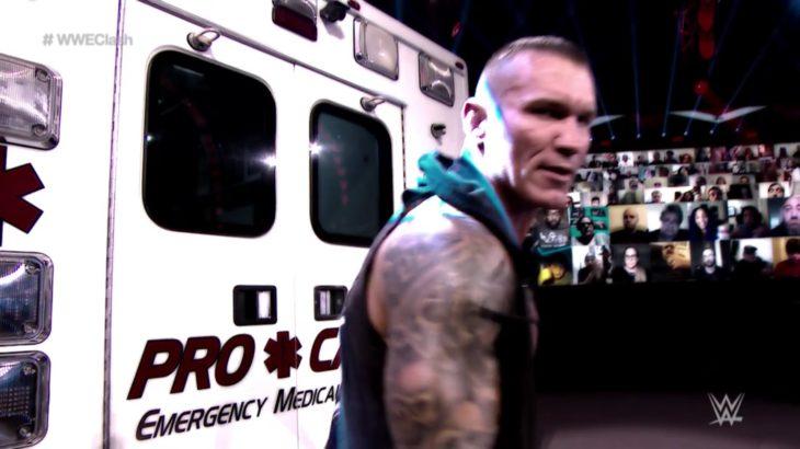 Drew McIntyre vs. Randy Orton – WWE Championship Ambulance Match Clash Of Champions 2020
