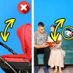 Easy And Useful Tricks For Smart Parents || Clever Kids Training And Gadgets To Save Your Time