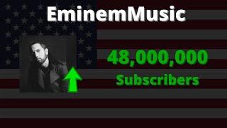 EminemMusic Hit 48 Million Subscribers! #shorts
