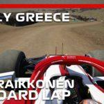 F1 Dirt Rally Greece | Kimi Raikkonen Onboard | Assetto Corsa