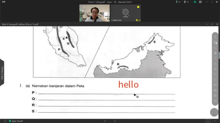 F1 Geografi Lesson 10 200621