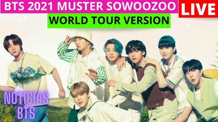 Hoy| 2 CONCIERTO de BTS (2021 MUSTER SOWOOZOO WORLD TOUR VERSION) (Horarios/Ver/Boletos/EnVivo/Live)