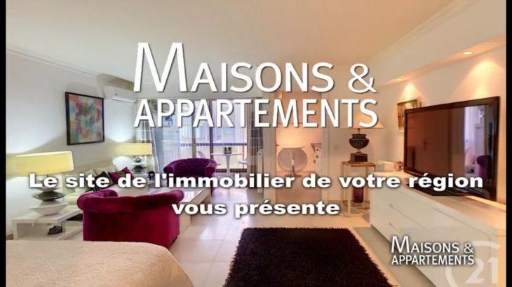 JUAN-LES-PINS – APPARTEMENT A VENDRE – 219 000 € – 39 m² – 1 pièce(s)