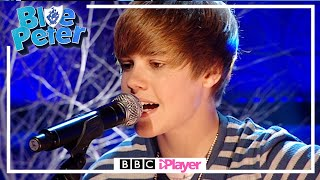 Justin Bieber's First EVER UK Performance! 👀 | One Time Live on Blue Peter 2010