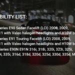 LUMRO BMW E90 E91 Facelift LCI 63112179077 20W CREE LED Angel Eyes Bulbs.mp4