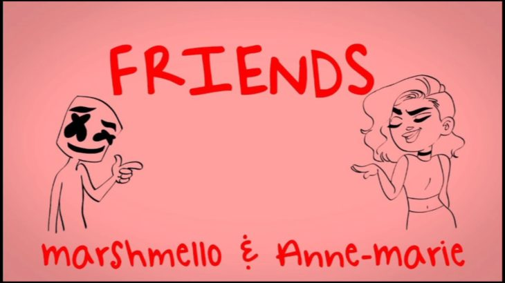 Marshmallow and Anne Marie :- FRIENDS ( REMIX ) song