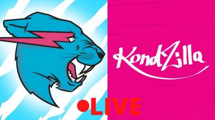 MrBeast vs Canal Kondzilla- LIVE!