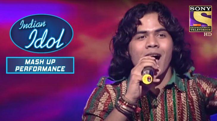 Naushad ने दिया 'Main Jat Yamla Pagla' पे एक ज़बरदस्त Performance | Indian Idol | Mashup Performance