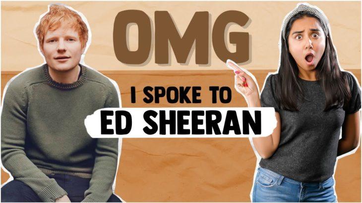 OMG I Spoke to Ed Sheeran |  Bad Habits | #RealTallTuesday | MostlySane