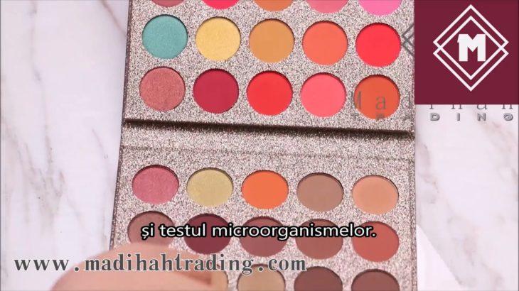 Palete de farduri de ochi din fabrica de produse cosmetice de vânzare cu ridicata, palete de farduri de ochi ieftine.
