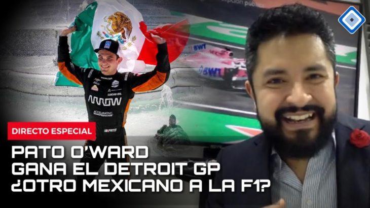 ¿Pato O'Ward y Sergio 'Checo' Pérez juntos en la F1? Análisis de GP de Francia y Victoria en Detroit