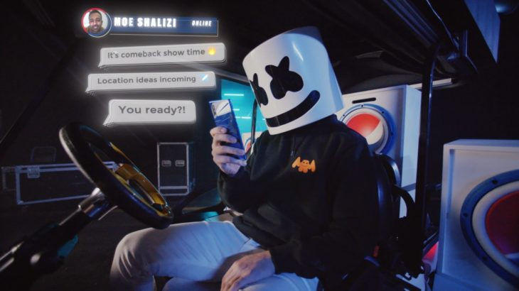 Pepsi UCL Final | Marshmello Opening Ceremony