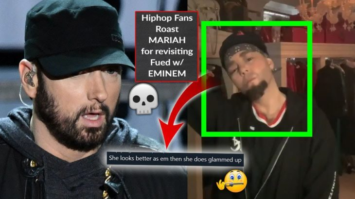 😂 Rap Fans Roast Mariah Carey For Cosplaying Eminem In 2021, @EminemMusic Sets Rap Record On YouTube