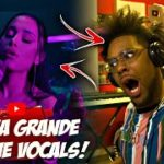 SHE CAN SAAANG!!   Rap Fan Reacts To Ariana Grande – pov (Official Live Performance)